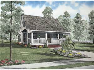 Country Cottage House Plans With Porches by Shelby Cove Country Cottage Home Plan 055d 0632 House