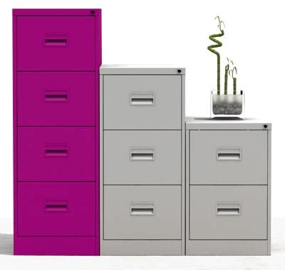 Purple Filing Cabinet 4 Drawer A4 Filing Cabinet Purple