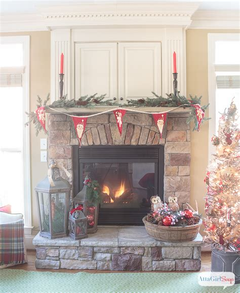 festive christmas mantel decorating idea in my own style how to decorate a mantel gallery of gorgeous holiday