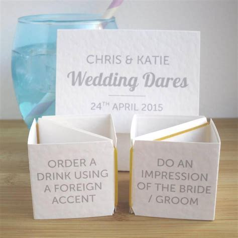 Wedding Table Games: The Best Ice Breakers    Pinteres