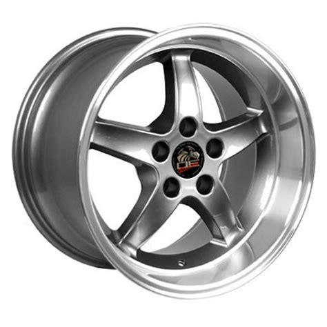 cobra r wheels ford mustang cobra r style replica wheel gunmetal 17x10 5