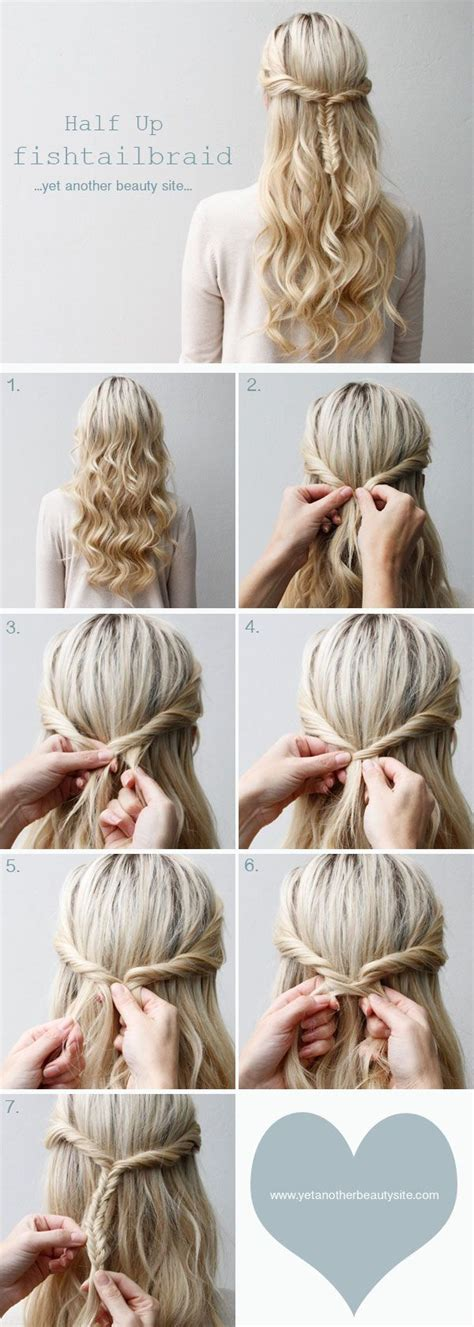 cute everyday hairstyles tutorials cute and simple everyday half updo for the bridesmaids i