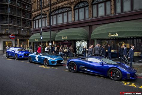 Classic Home Design Concepts Jaguar Concepts Show Up Outside Harrods Gtspirit