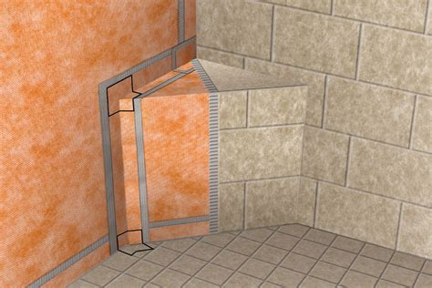Ditra Floor Installation - schluter 174 kerdi kereck f kers b waterproofing shower