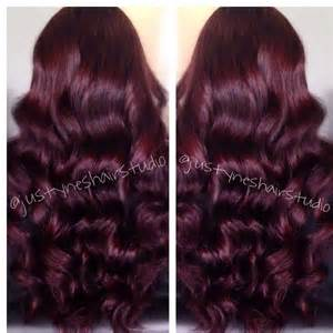 wine color hair wine hair color by h preen me