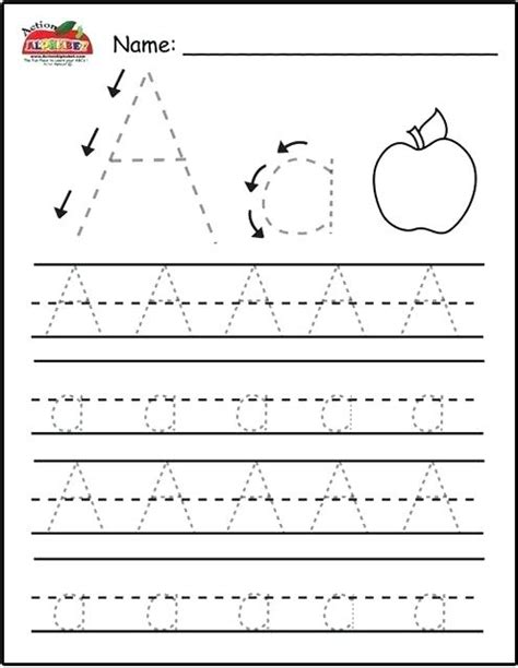 printable tracing worksheets for grade 1 letter a worksheets view preview informal letter