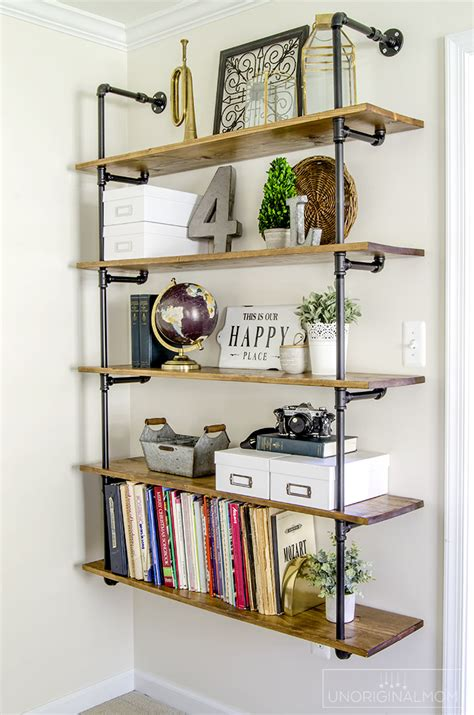 farmhouse shelves orc 3 industrial farmhouse pipe shelves unoriginal