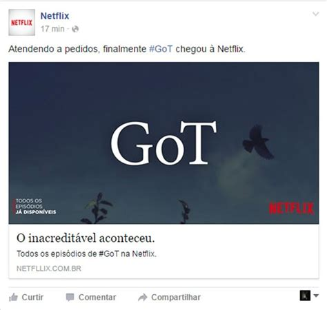 will of thrones be on netflix of thrones no netflix minion no gmail veja