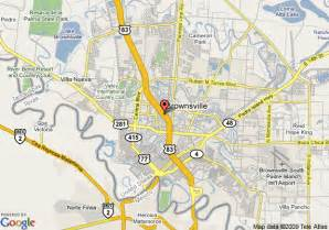 where is brownsville on the map map of garden inn brownsville