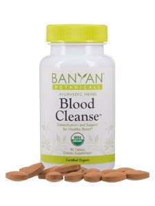 Banyan Botanicals Detox by Banyan Botanicals Blood Cleanse 90 Tabs