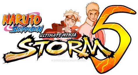 naruto shippuden ultimate ninja storm  logo  risenshinobi  deviantart