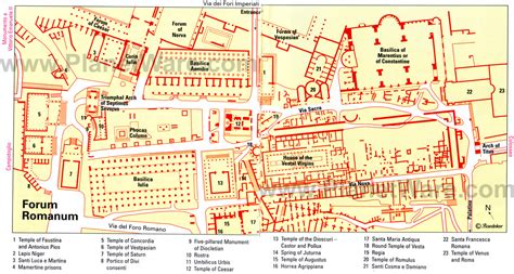 les loyauts roman 97 layout of the roman forum rome italy roman forum roman history and ancient history