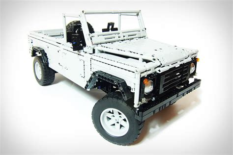 lego land rover lego land rover defender uncrate