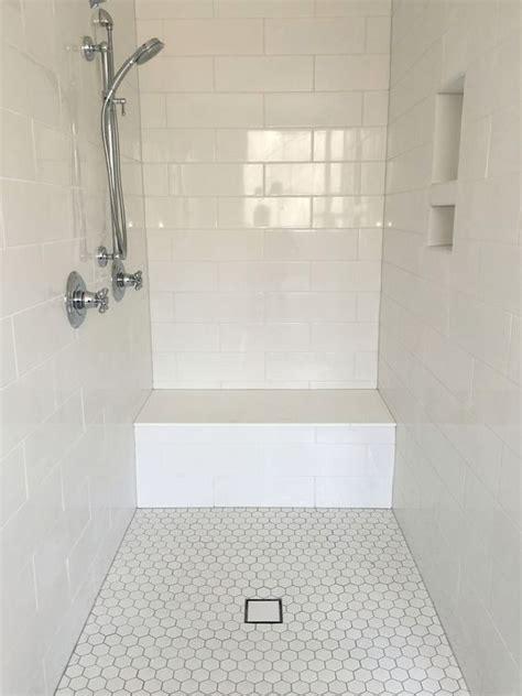 bathroom shower floor tile best 25 large tile shower ideas on grey tile