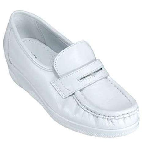 mates shoes pennie white moccasins 103814