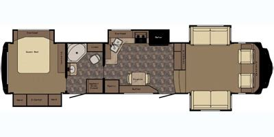 redwood 5th wheel floor plans 2015 redwood rv fifth wheel series m 38 fl specs and