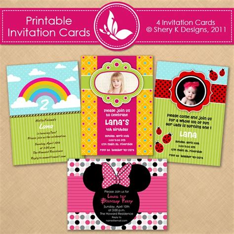 Digital Invitation Cards Templates by 17 Best Images About Printables Templates On