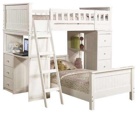 safe functional white youth twin storage loft bunk bed