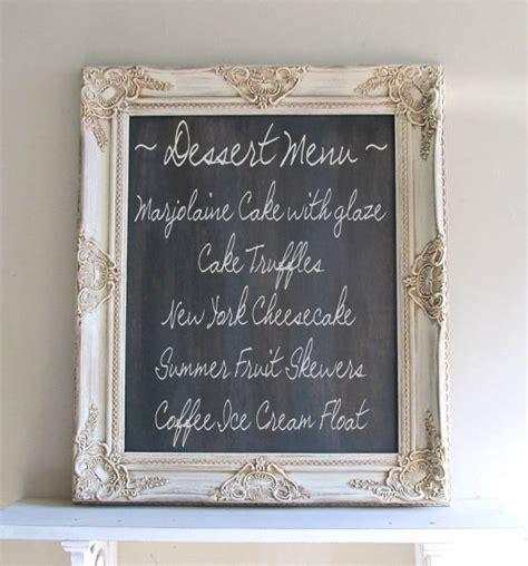 country kitchen chalkboard chalkboard wedding sign framed chalk board vintage wedding
