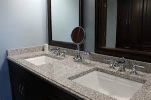 Caring For Marble Countertops In Bathroom by Sink Bathroom Granite Countertop Color Pearl
