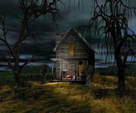 spooky cabin ghost story settings