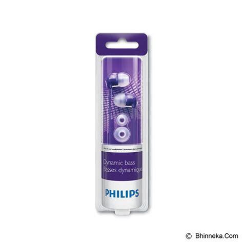 Philips In Ear Headphones She 3590 jual philips in ear headphones she 3590pp purple murah bhinneka