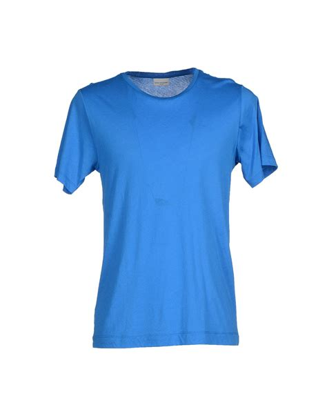 dries noten t shirt in blue for lyst