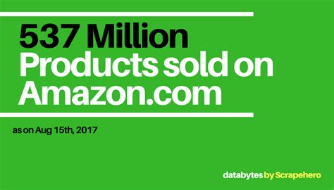 how many sales to amazon how many products does amazon sell august 2017 web