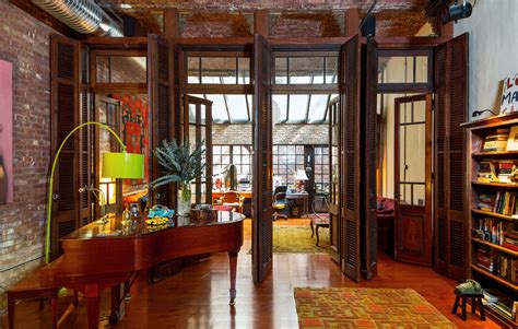 tibetan home decor decordemon eclectic loft in new york
