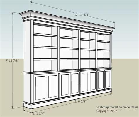 built  bookshelf nice dimensions  doors