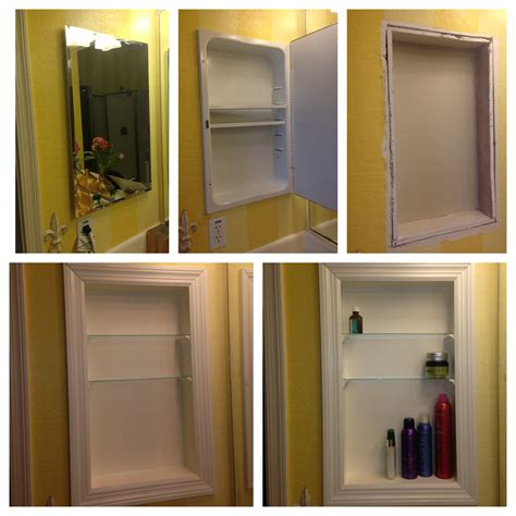 Converted Medicine Cabinet Into Open Shelves I