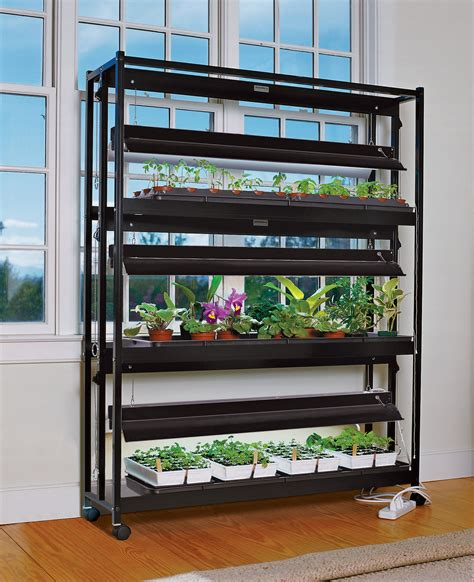 plant grow lights   shelves gardeners supply