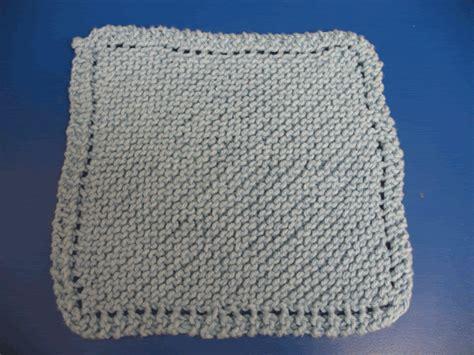 yarn dishcloth pattern idiot s dishcloth