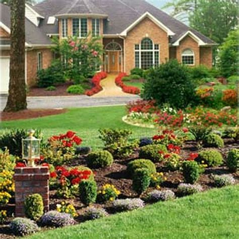 landscape ideas for small sloped front yard home design