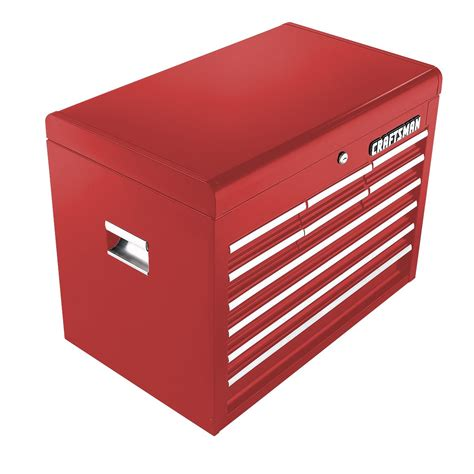 craftsman 6 drawer tool box quiet glide chest craftsman 10 drawer quiet glide chest red tools tool