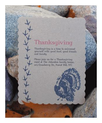 staples scallop cards template make thanksgiving invitations diy