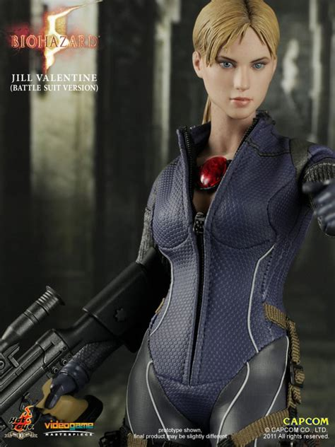imagenes hot de jill valentine hot toys biohazard 5 jill valentine battle suit version