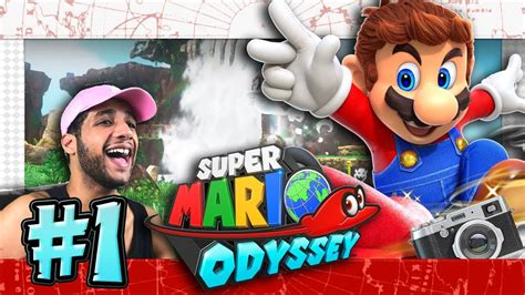 Super Mario Odyssey Giveaway - super mario odyssey part 1 switch giveaway cap
