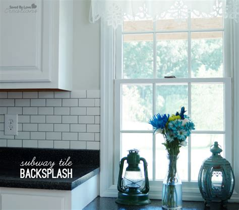 diy kitchen tile backsplash diy subway tile backsplash