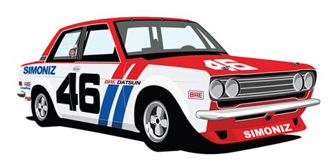 Tshirt Datsun 510 Blubird Bre by Bre Datsun 510 On Behance