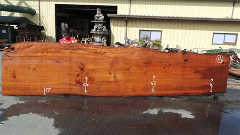 rustic dining tables live edge wood slabs redwood burl
