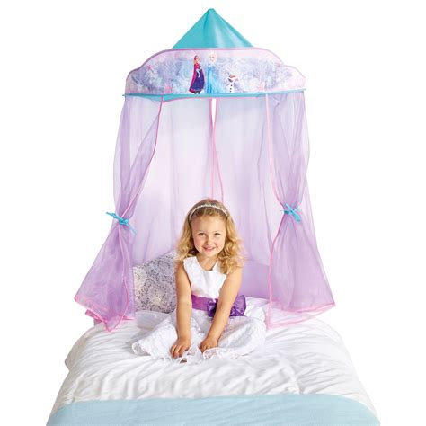 hanging bed canopy disney frozen hanging bed canopy new official room decor ebay
