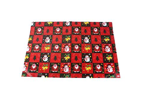 snowman christmas gift wrapping paper 10pcs sd 006 j03898