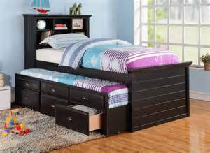 bedroom contemporary size captains bed decor with