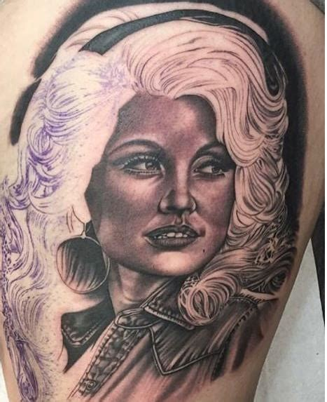 35 amazing dolly parton tattoos nsf