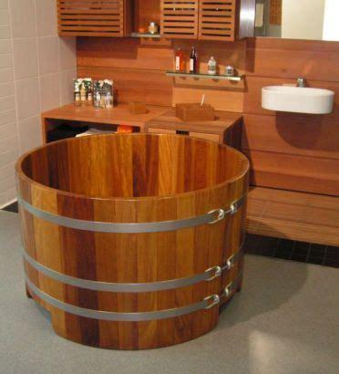 Holzzuber Badewanne by Die Besten 25 Holzbadewanne Ideen Auf