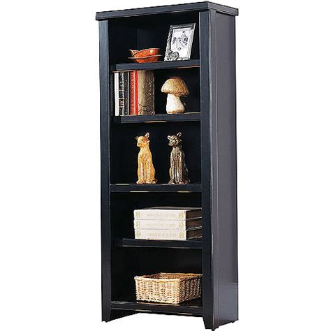 midtown 5 shelf bookcase finishes walmart