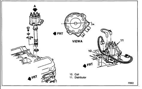 Engine Parts Diagram Chevy 350 Distributor Cap