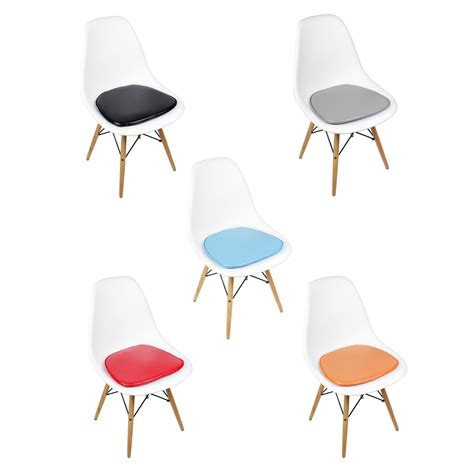 white plastic dining chair eames style dsw molded white plastic dining shell chair