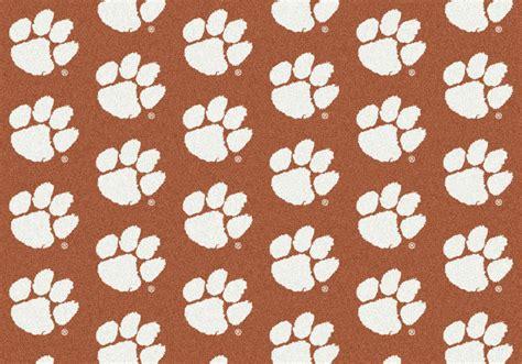 Clemson Rug 4x6 milliken clemson tigers 1060 ncaa repeat area rug
